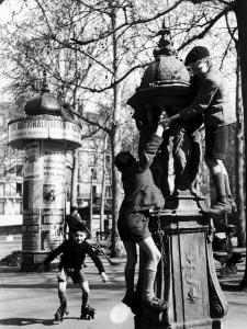 Fontaine Wallace, Saint-Sulpice, 1946