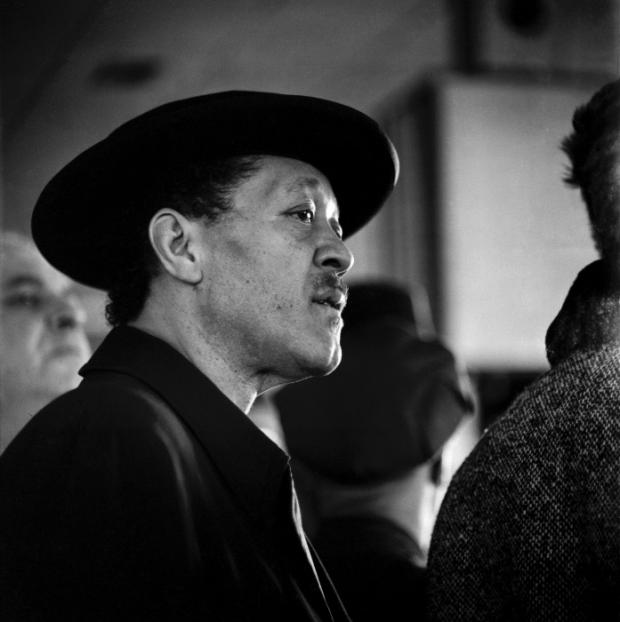 Lester Young, aéroport d'Orly, 22 janvier 1959